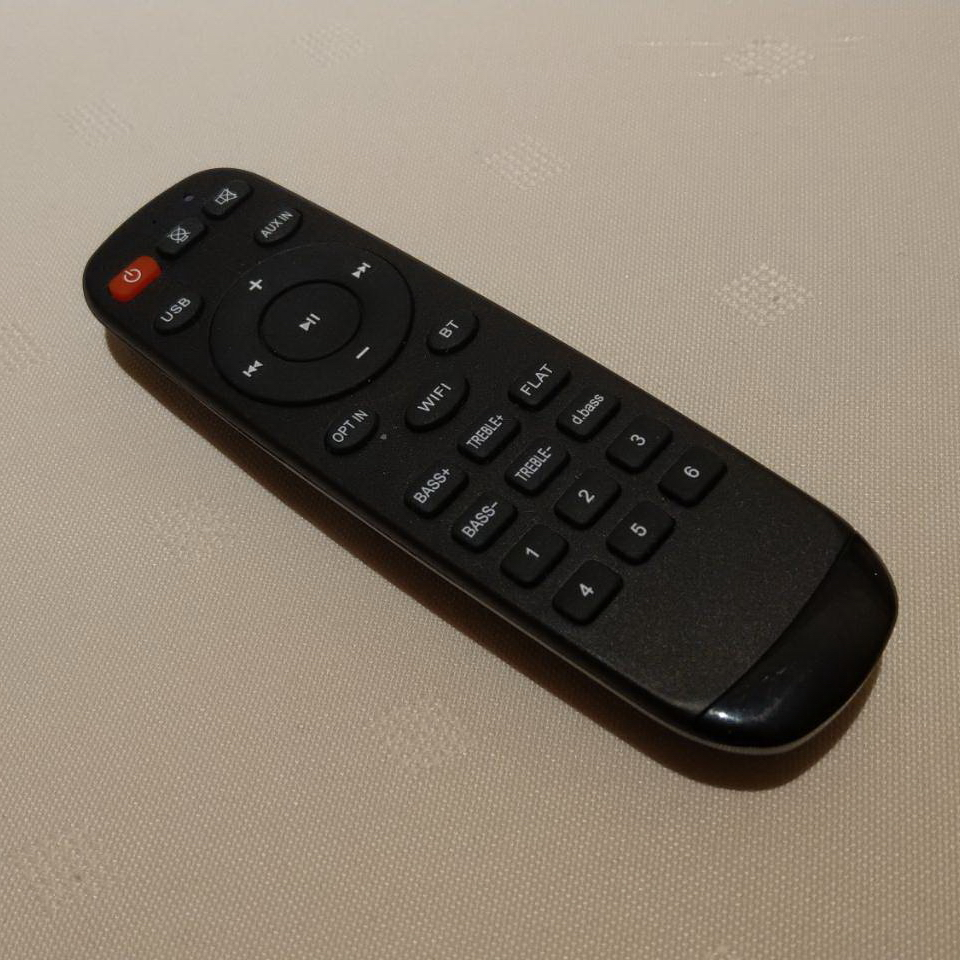 HitOn WiFi 數位串流播放器套件二代專用遙控器
